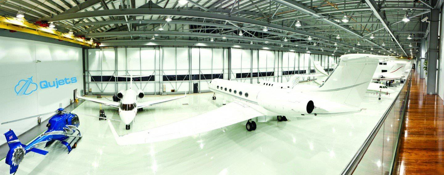 Aircraft-Management-Qujets-Hanger
